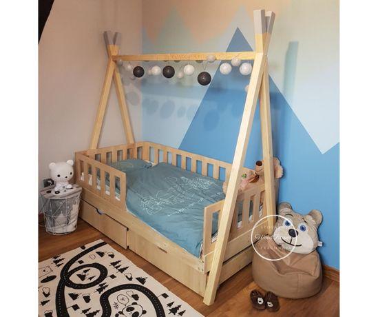 Łóżko dla dzieci - tipi