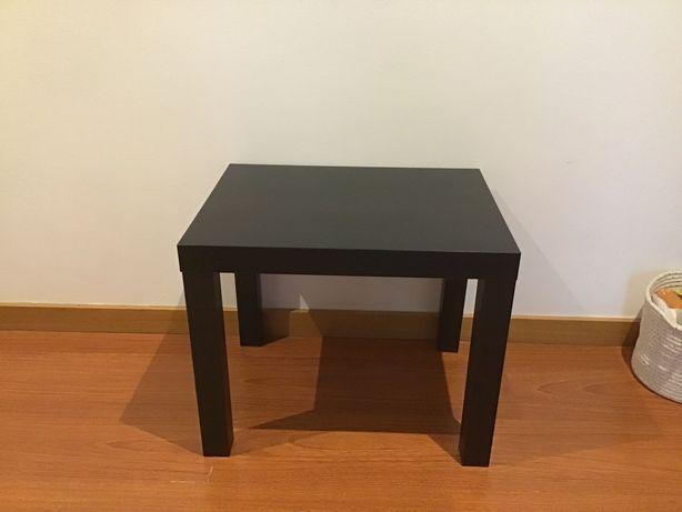 Mesa de apoio Ikea Preto/castanho