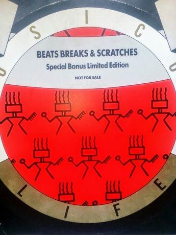Vinil para Produtores e DJs. Beat Breaks & Scratches