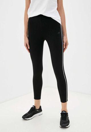 4F Nowe Legginsy S/36 dresowe czarne spodnie ciepłe zimowe bluza dresy