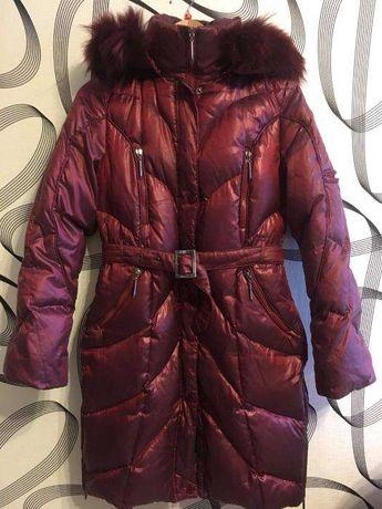 Пуховое зимнее детское пальто New Mark, пуховик