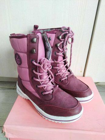 Зимние детские ботинки 35 размер