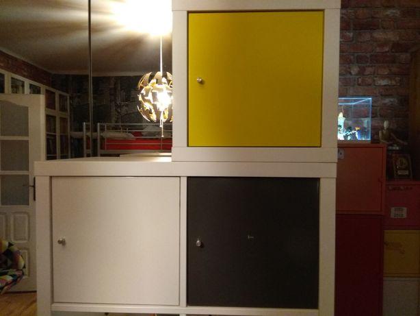 Regał ,regały Kallax Ikea , 3 wkłady biurko gratis