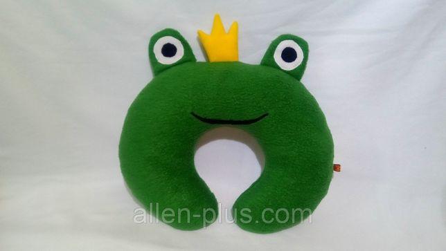 Мягкая игрушка-подушка ручной работы Царевна-Лягушка
