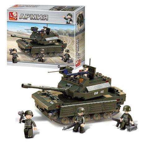Конструктор Lego Лего SLUBAN Армия, танк