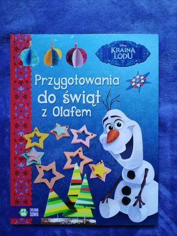 Przygotowania do świąt z Olafem TWARDA OPRAWA