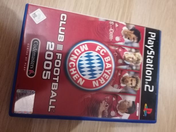 Gry PS2 PES4 Bayern Munchen Fight Club Red Card Smack down