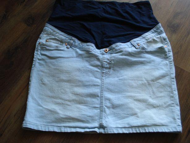 Spódnica jeansowa ciążowa rozmiar 46