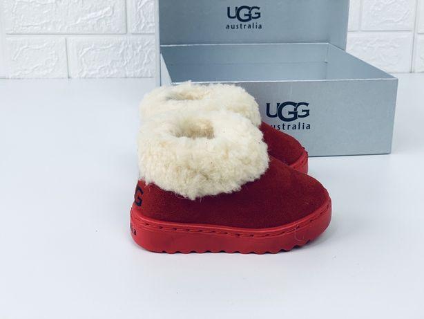 Детские зимние ugg mini угги мини уггі дитячі ботинки детские