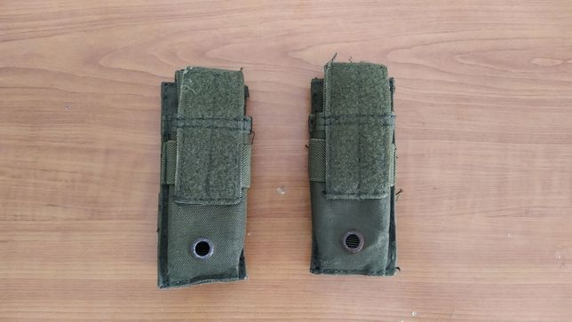 AIRSOFT Pistol Pouches OD