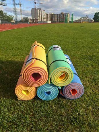 Каремат, коврик для йоги и фитнеса , 5,8, 10 мм