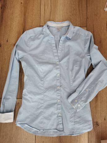 Koszula Błękitna H&M 38 S / M Damska do karmienia