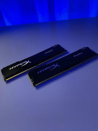 HyperX Fury 16 GB (2x8GB) 2666 MHz