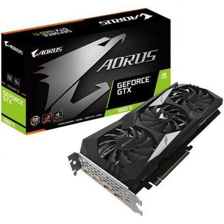 Gigabyte GeForce GTX1660 Ti Aorus 6GB GDDR6