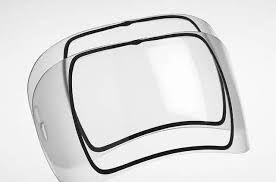 Внешние защитные стекла OPTREL для масок e600/e684 Original