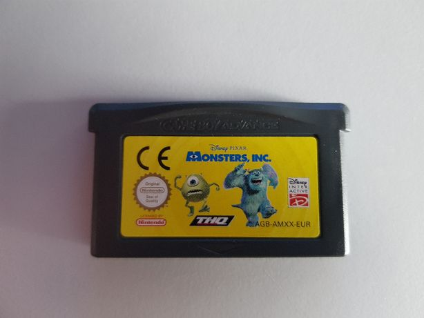 Monsters Inc gra GBA Gameboy Advance DS NDS