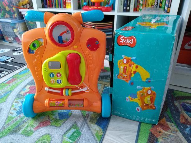 Chodzik/jeździk interaktywny 2w1 Smiki Baby Walker