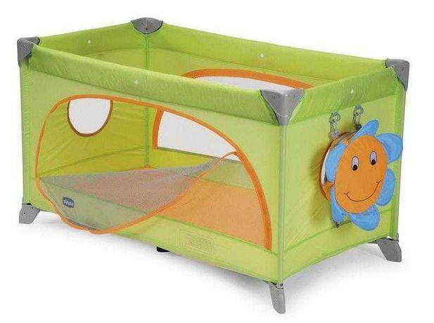 Chicco кровать-манеж Spring Cot Green