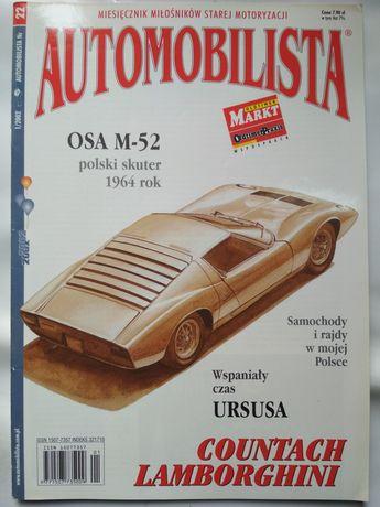 Automobilista 22 / 1/2002 Lamborghini Countach, OSA M-52, Ursus