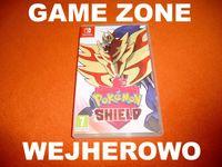 Pokemon Shield Nintendo SWITCH = Wejherowo = gwarancja / wymiana