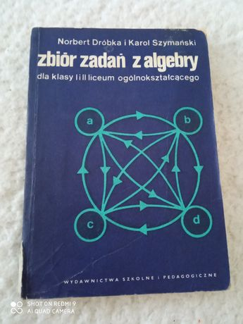 Zbiór zadań z algebry kl. 1 i 2 LO