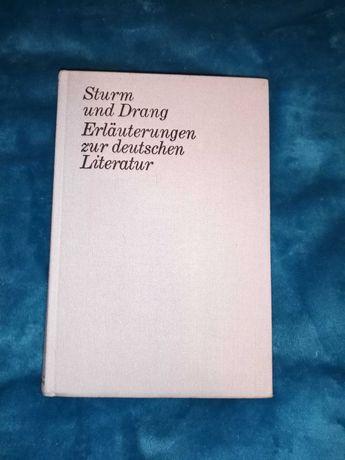 Sturm und Drang Erläuterungen yur deutschen literatur