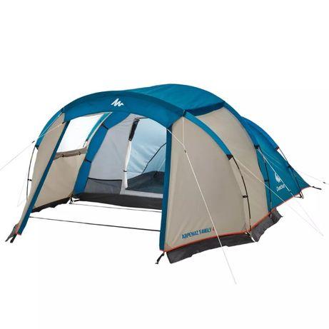 Палатка QUECHUA 4-местная с тамбуром, модель: Arpenaz 4 из Польши