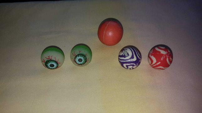 Мячики-прыгуны, игрушки (6 шт)