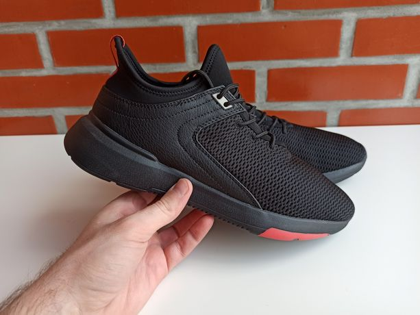 Pull & Bear мужские чёрные кроссовки размер 43, 44 пулл беар Зара