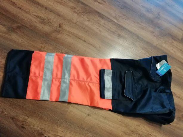 Spodnie robocze odblaskowe