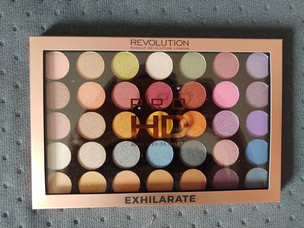 Makeup Revolution London nowa paleta do makijażu oczu Exhilarate