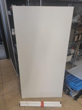 Stół biurko białe 75x150 cm