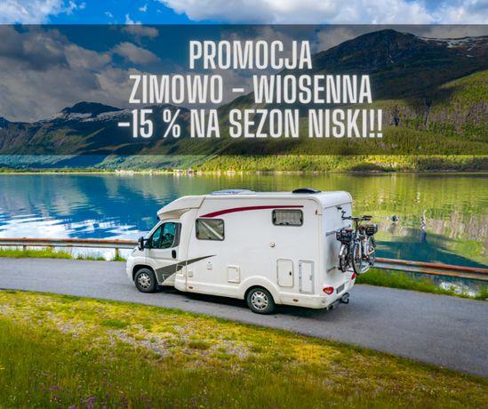 PROMOCJA -15 % sezon niski ,WYNAJEM Kampera, kamper WOLNE TERMINY