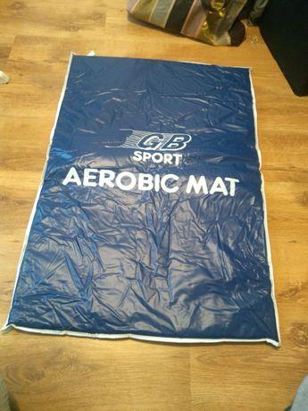 Mata do ćwiczeń aerobik fitness aerobic joga crossfit sport