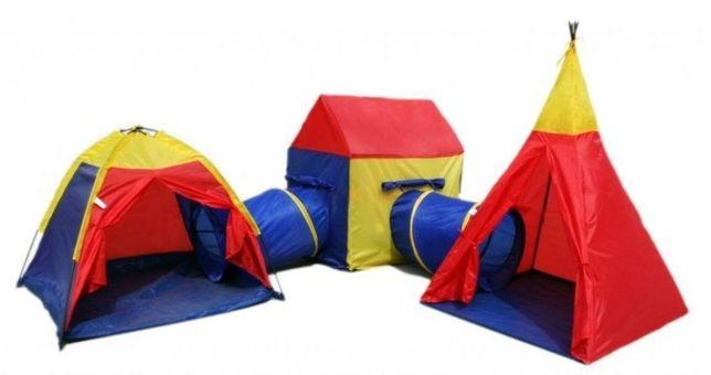 Zestaw namiotów dla dzieci 5w1 IPLAY