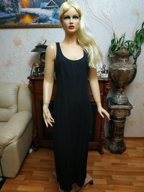 Лляна сукня сарафан плаття льняное платье