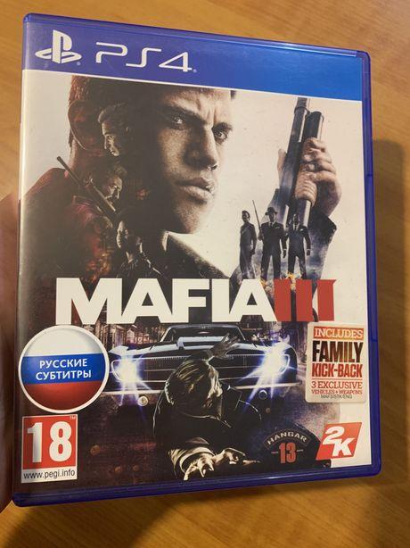 """Издание на Диске """"Mafia 3"""" RUS (РS4). Официальная русская версия"""