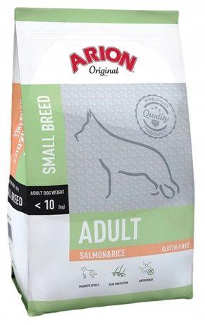 karma dla z psów z łososiem, Arion Original Adult Small S&R 7,5kg