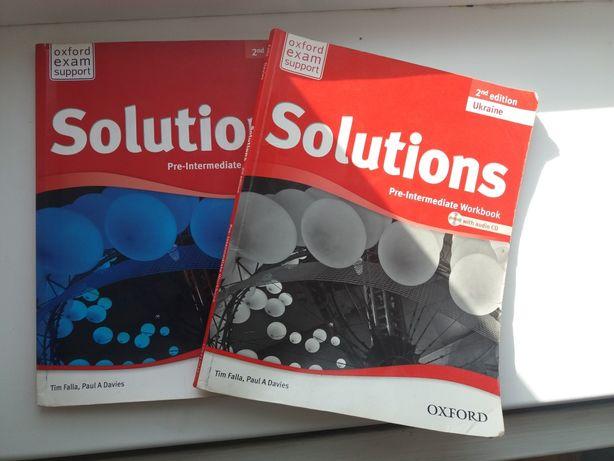 Книжка та зошит для удосконалення англійської Solutions