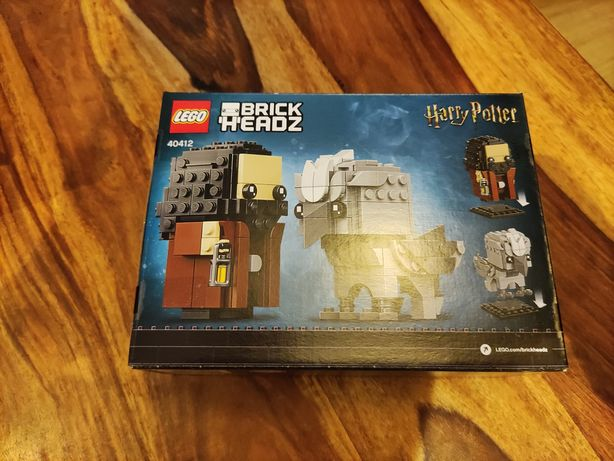 Nowy LEGO Brick Headz Harry Potter 40412