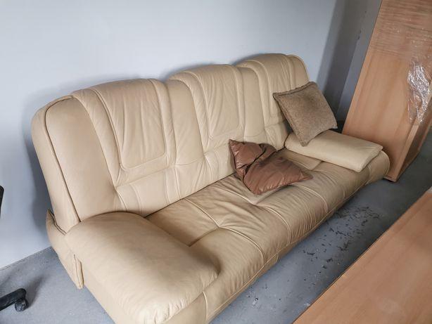 Kanapa sofa skórzana