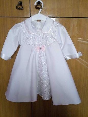 Sukienka do chrztu plus..