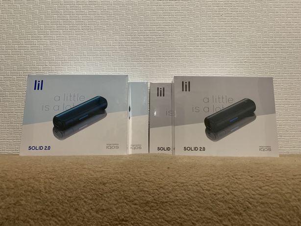 lil solid 2.0 by iqos new, абсолютно новые устройства