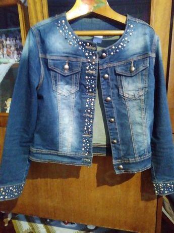 Куртка джинсова джинсовка розмір S 44