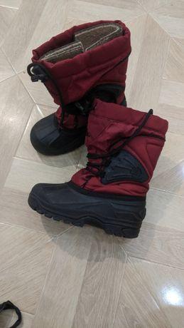 Чоботи ботинки сапожки сапоги дутики камік Kamik Сноубутсы
