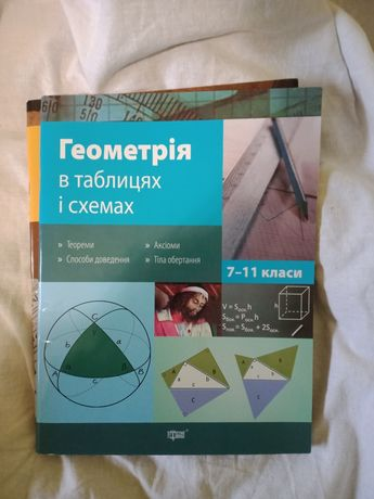 Геометрія та алгебра. Збірник до ЗНО та ДПА. Математика