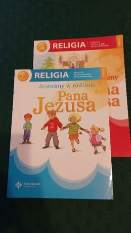 Religia klasa 1 i 2 szkoła podstawowa, podręcznik, książka