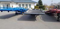 Rampa mobilna najazd 8 ton załadunkowa przeładunkowa
