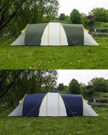 Палатка кемпинговая Acamper Nadir 8 двухкомнатная большая двухслойная