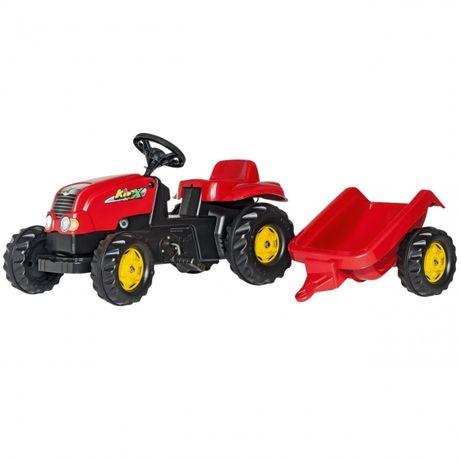 Traktor na pedały z przyczepą Ciągnik 2-5 Lat